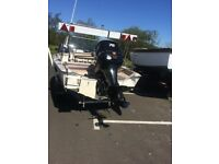 Fletcher - Malibu Fish & Ski Mercury Optimax 75 2006 not jet ski ,speedboat ,warrior ,maxum , boat