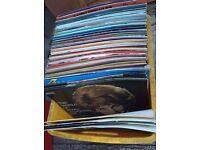 #Joblot Approx 250 33rpm vinyl 33rpm records
