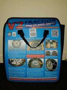 Snow Chains V2 traction brand new Mansfield Mansfield Area Preview
