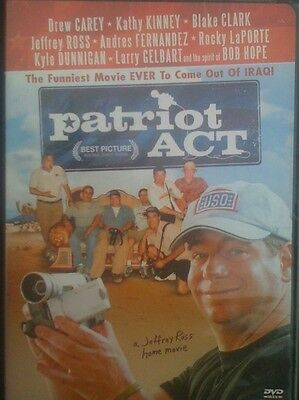 Patriot Act  Drew Carey Comedy Drama
