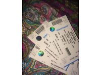 2-3 Seated Justin Bieber tickets for sale. £70 each, 2nd November 3 Arena Dublin
