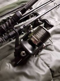 3 x Greys Prodigy GT5 Rods and 3 x Daiwa ENTHOS Reels