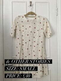 & Other Stories white dress FOR SALE