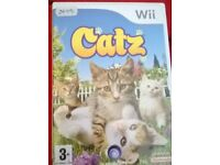 Wii CATZ GAME BOXED £5