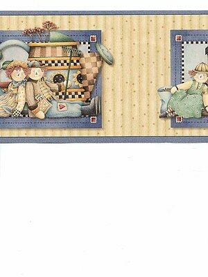 Raggedy Ann & Andy Childrens Wallpaper Border
