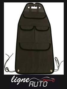sac de rangement organiseur protege siege arriere auto voiture camping car ebay. Black Bedroom Furniture Sets. Home Design Ideas