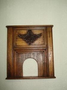 Fireplace-Surround-By-Michael-Mortimer-Artisan-Item-Great-Price-Dollhouse-Item