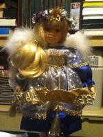 Grande Poupée Ange de collection n.280 (seulement 1000 au monde)