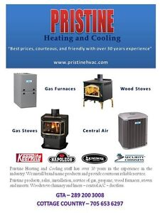FURNACE INSTALL Pristine Heating and Cooling Peterborough Peterborough Area image 1