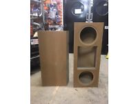 Pre made Speaker boxes
