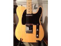 Fender USA std TELECASTER..2005 with hard case £600.