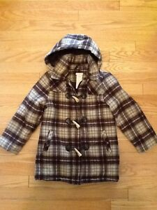 Kids JOE Fresh Wool style jacket with toggle buttons & zipper West Island Greater Montréal image 1