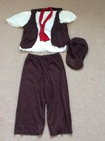 Urchin/Victorian boy's dressing up costume ages 5-7