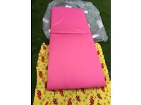 Foam mattress folding one size 183x75x8 cm