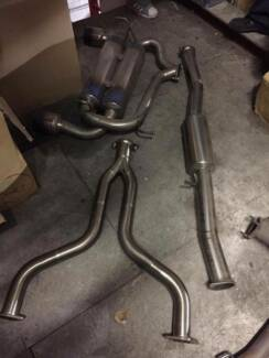 Amuse R1 ti exhaust + Y pipe for 350Z, 350GT