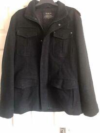 Next Mens Signature Italian Wool Jacket in L is new