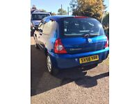 2008 Blue 1.2 Renault Clio For Sale