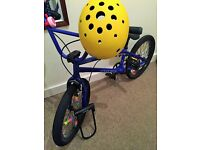 BMX bundle! Incl. King Kong helmet and Metalock! +MORE