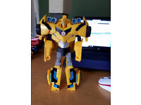 Tranformers Bumblebee (yellow, black and blue)