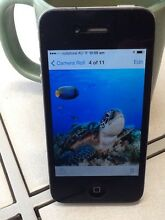 APPLE IPHONE 4 16GB BLACK AS NEW CONDITION UNLOCKED Karrinyup Stirling Area Preview