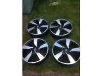 Genuine Nissan Qashqai,X-trial 18 inch alloy wheels x4