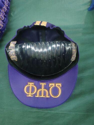 Omega Psi Phi Biker purple Biker cap
