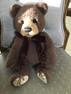 Charlie Bears DARIUS 2020 Isabelle Mohair Collection 13