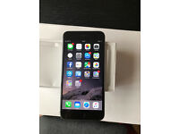 IPHONE 6 PLUS 64GB black FACTORY UNLOCKED MINT CONDITION LIKE BRAND NEW 1Y OLD ONLY