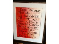 Liverpool FC ' Best ever eleven' framed original hand calligraphy