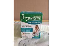 Pregnacare for breast-feeding