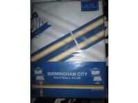 BIRMINGHAM CITY CURTAINS BRAND NEW IN PACKET SIZE 66 WIDE X 72 DROP
