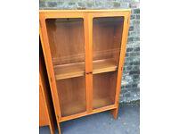 Vintage retro G plan vintage teak wooden book case shelves cabinet 60s 70s