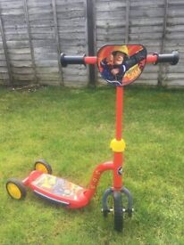 Fireman Sam Scooter with lights and sounds - great condition