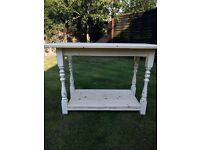Shabby chic console/side table £95