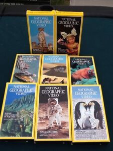 National Geographic Video Tapes