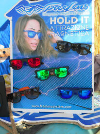 Magnetic sunglasses made in italy, new by the company.