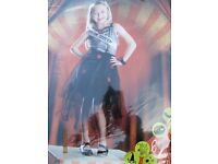girls prom queen fancy dress outfit age 7/8 great for party or play