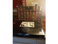 crackers x 2 boxes and gold charger plater