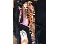Pink Saxophone Elkhart