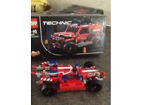 Lego Technic first response