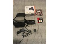 Sony FDR AXP-35 Camcorder with projector 4K