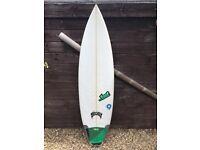 """LOST Surfboard 6""""6 x 20 x 2.75 . Made in USA . Model : Taj Barrow"""