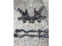 BMW 36 extra lock hubs, coupe, saloon, compact
