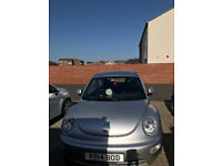 VW BEETLE AUTOMATIC 2001 2.0 SPARES OR REPAIR