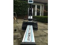 Infinti Foldaway multi function rower with digital display. Hardly used in excellent condition.