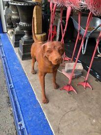 Cast iron Labrador