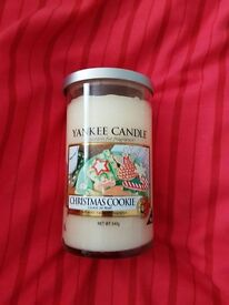 YANKEE CANDLE Tall Size CHRISTMAS COOKIE 340G