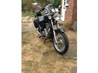 Motorcycle Royal Enfield 350 Thunderbird.