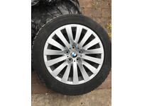 BMW Alloys with tyres 5mm, 8x18, 7 Series, 5 GT, STYLE 254, et 30