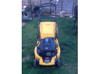 "STIGA TURBO self propelled petrol lawnmower electric start 4 speed cut 20"" works great cb5 £180"